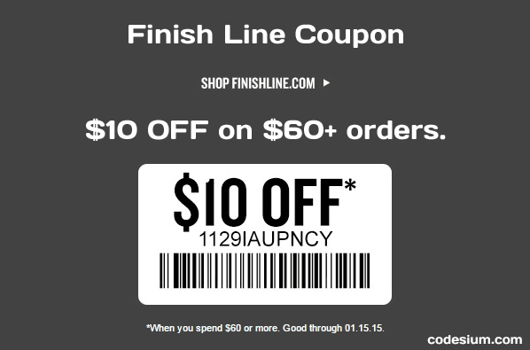 Finish line store coupons 2018